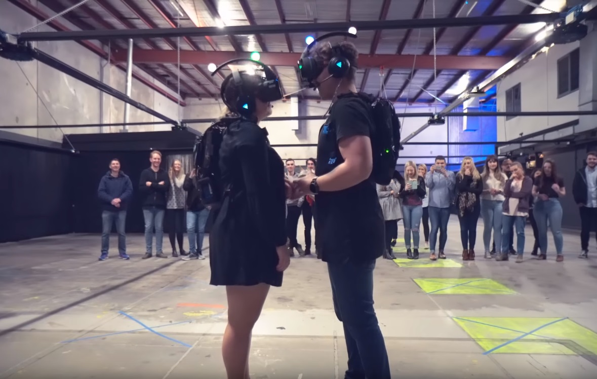 This Couple Just Got Married In Zero Latency Virtual Reality