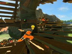 Naruto mod in Legend of Zelda – breath of the wild