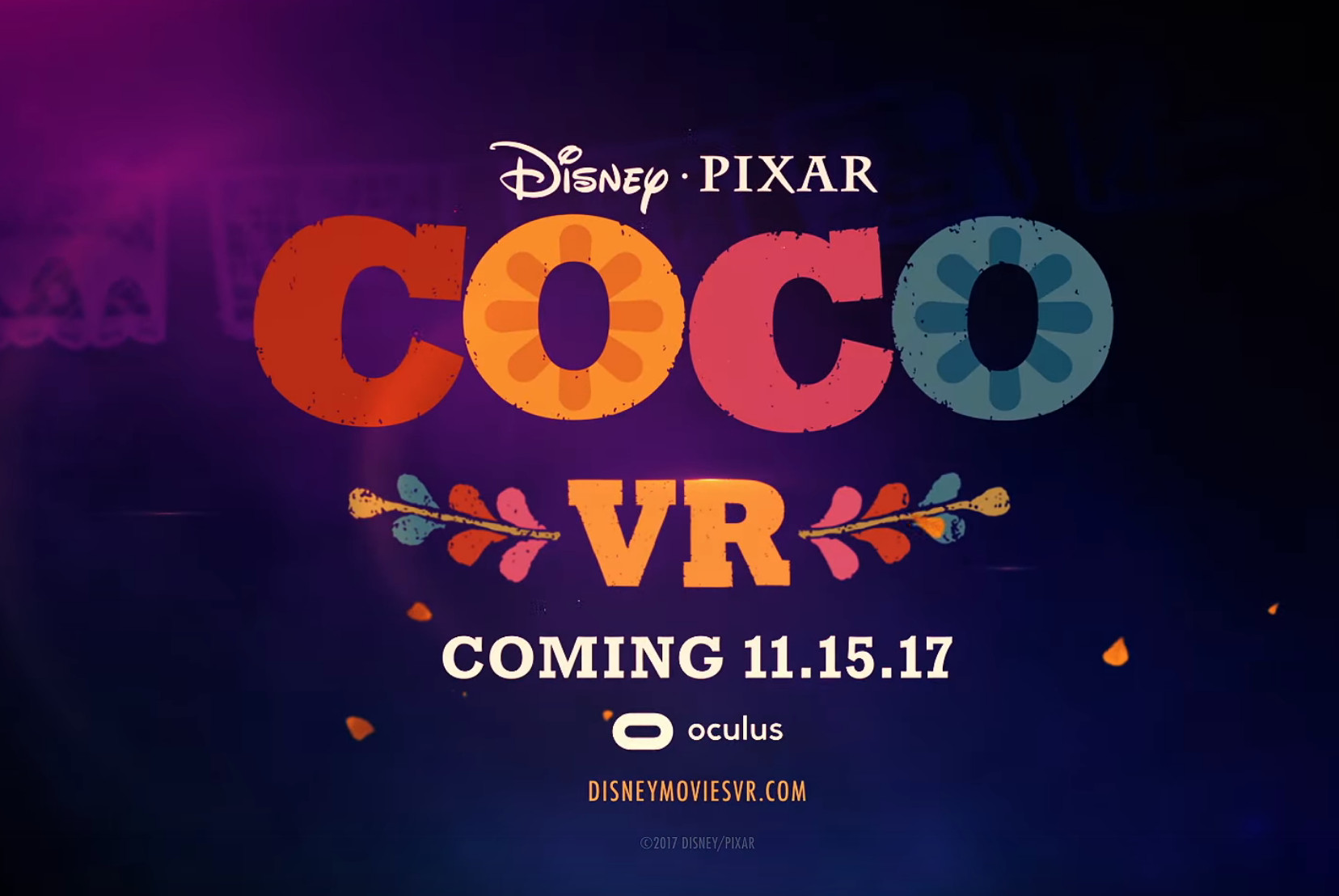Pixar Releasing Their First VR Experience Called 'Coco VR' On Oculus Rift