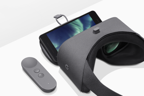 daydream view vr headset with pixel 2