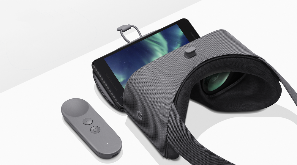 Google Aims High With The New Daydream View VR Headset