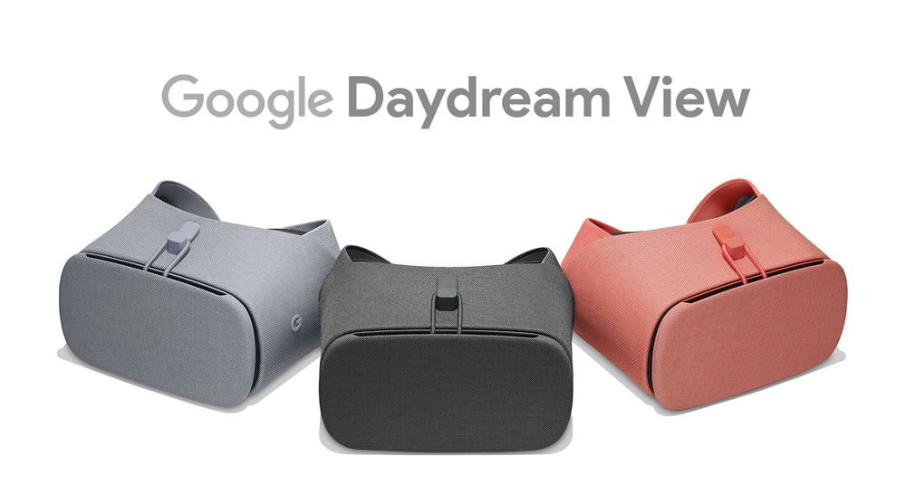 new google daydream view vr headsets