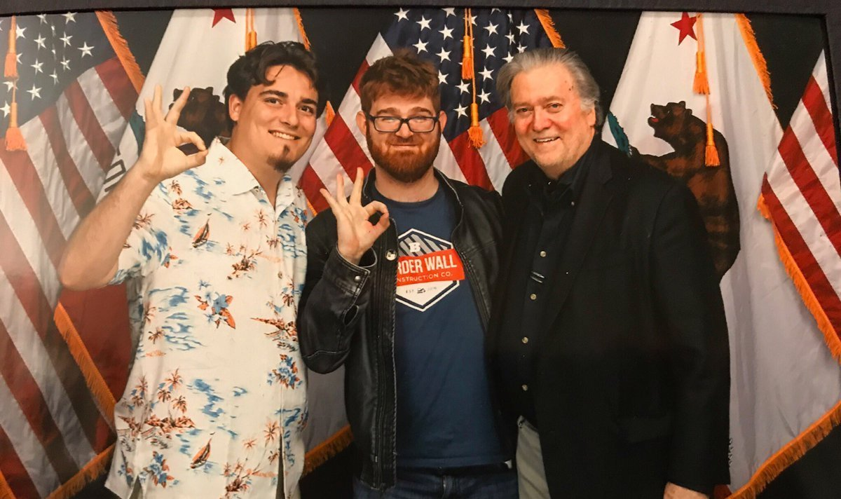 Oculus Founder Palmer Luckey Seen Together With Steve Bannon And White Supremacist Chuck C. Johnson