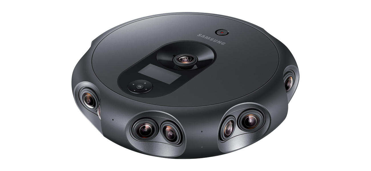Samsung Announces 360 Round Camera That Shoots In 4K With Spatial Audio