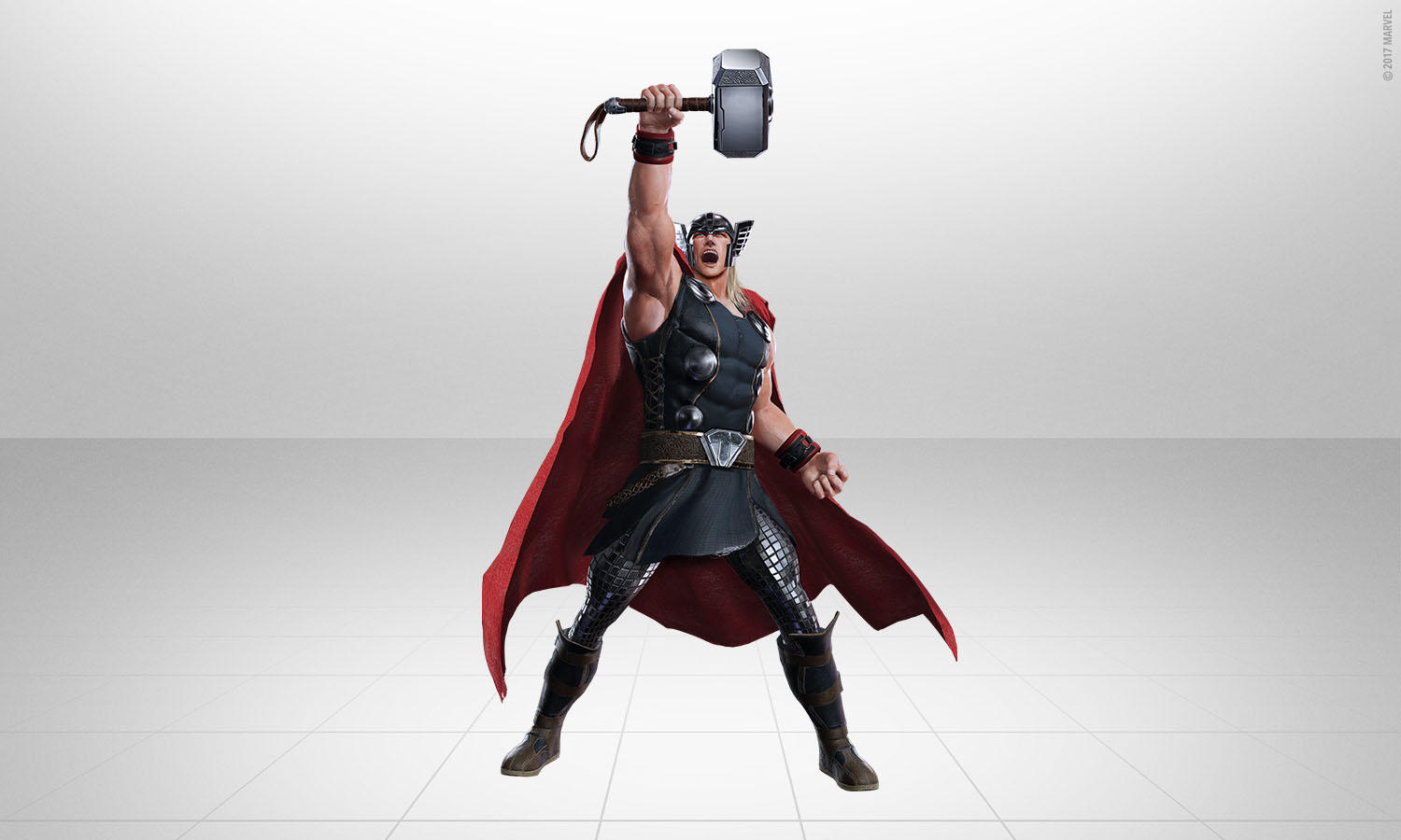 Thor Joins The List Of Superheroes In The Upcoming Disney Game 'Marvel Powers United VR'