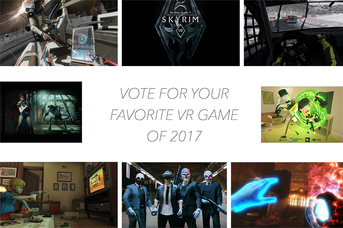 Vote For Your Favorite VR Game of 2017!