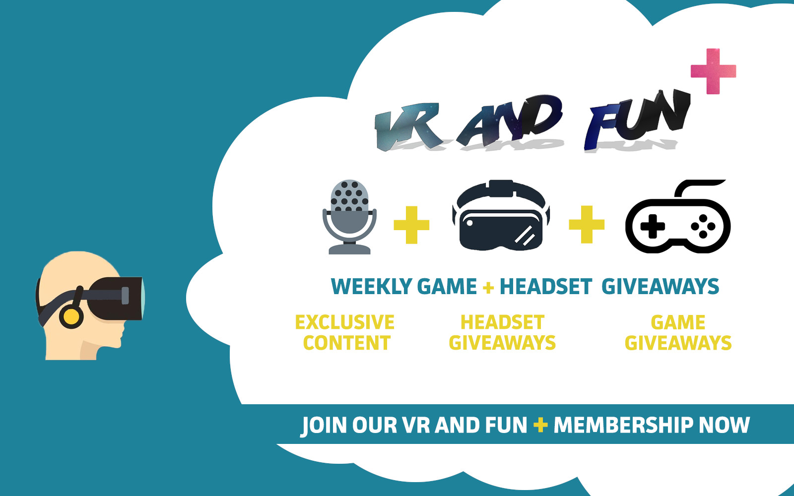 We're Giving Away Exclusive VR Games And Premium VR Headsets – VR AND FUN PLUS