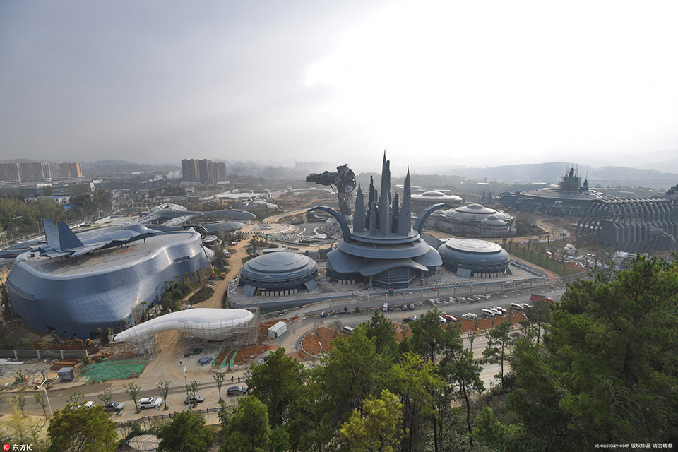 China's Biggest VR Theme Park Called East Science Valley Is Now Open