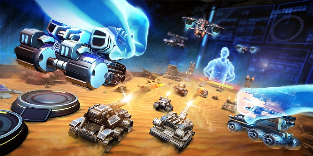 League of War: VR Arena Is the Futuristic Table Top Game We've All Imagined