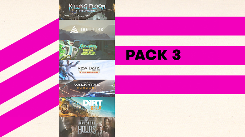 oculus rift collection pack 3