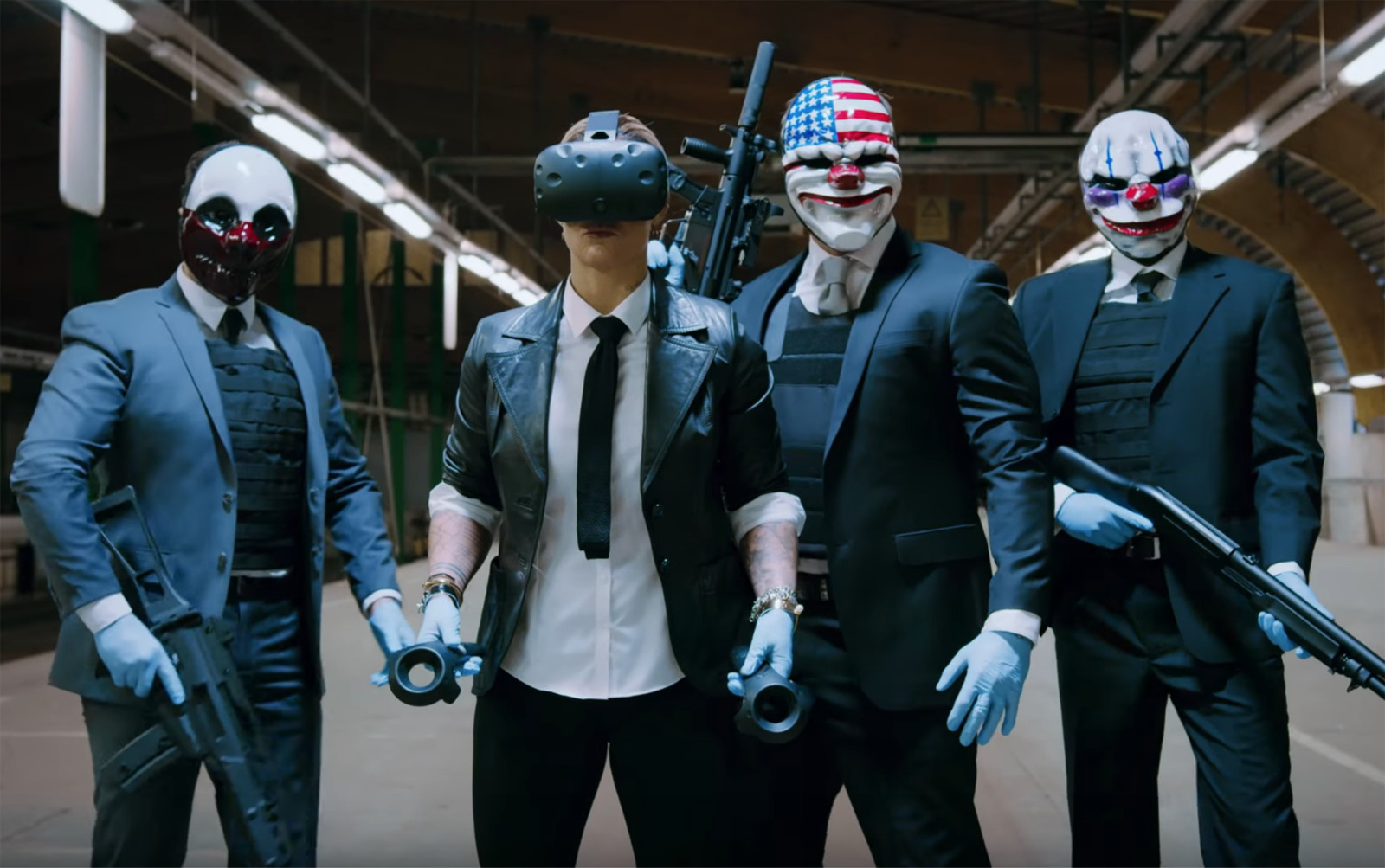 "PayDay 2 VR Devs Working On Native Locomotion Movement As ""Top Priority"""
