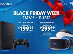 ps4 and psvr black friday sale