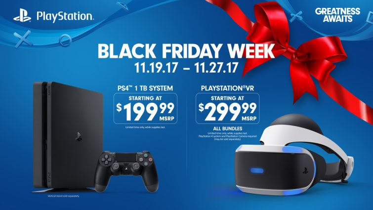 sony releasing black friday sale on ps4 and psvr vr news. Black Bedroom Furniture Sets. Home Design Ideas