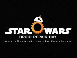 star wars droid repair bay astro-mechanic for the resistance