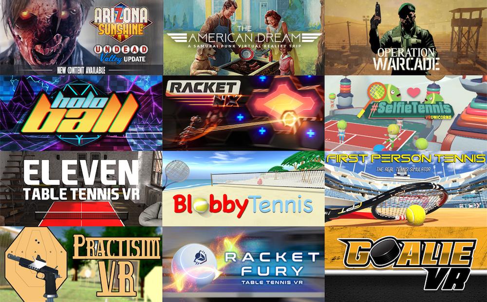 vive tracker bundle VR games