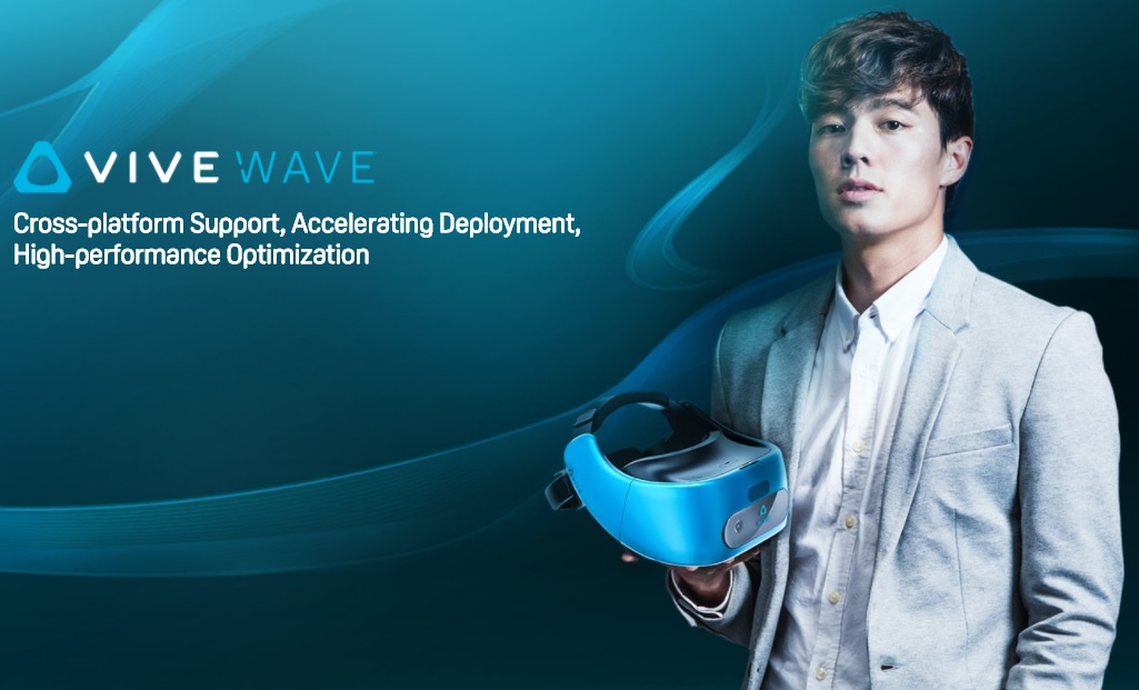 HTC Introduces New VR Open Platform Called Vive Wave