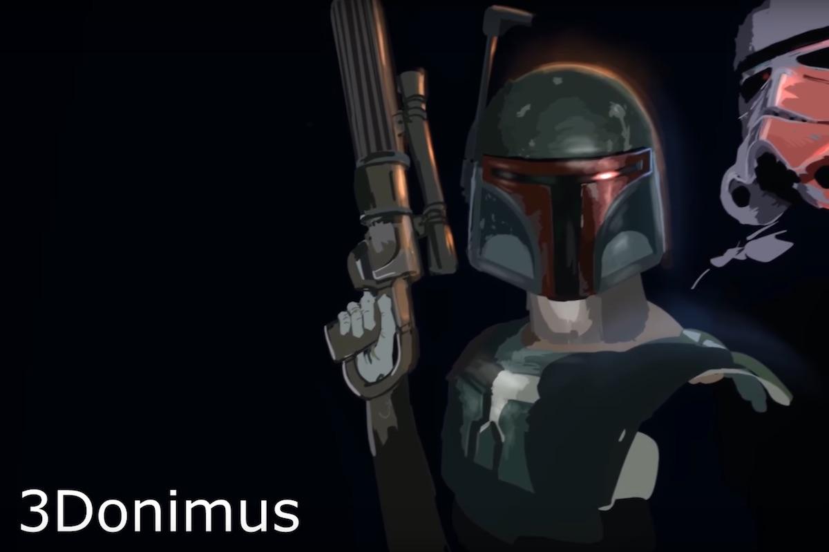 3dominus Boba Fett VR Artwork