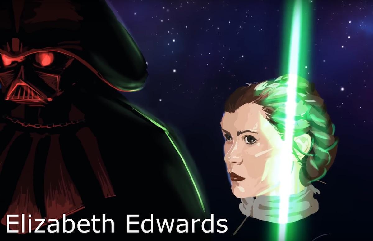 elizabeth edwards princes leia vr artwork