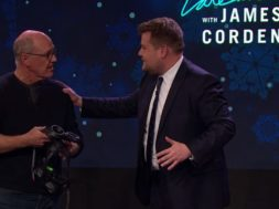 glen keane draws little mermaid in vr james corden show tilt brush