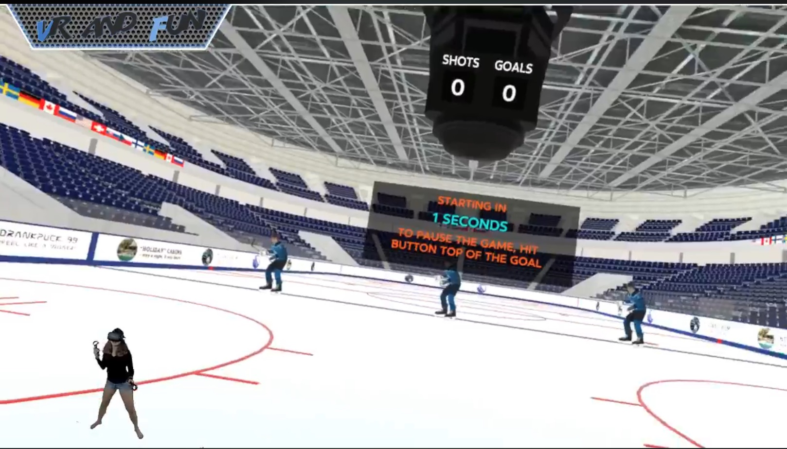 Have You Played: Goaltender VR