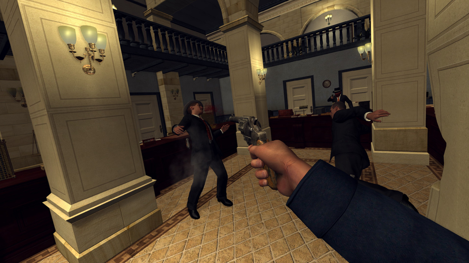 Instructions On How To Play LA Noire: The VR Case Files On The Oculus Rift