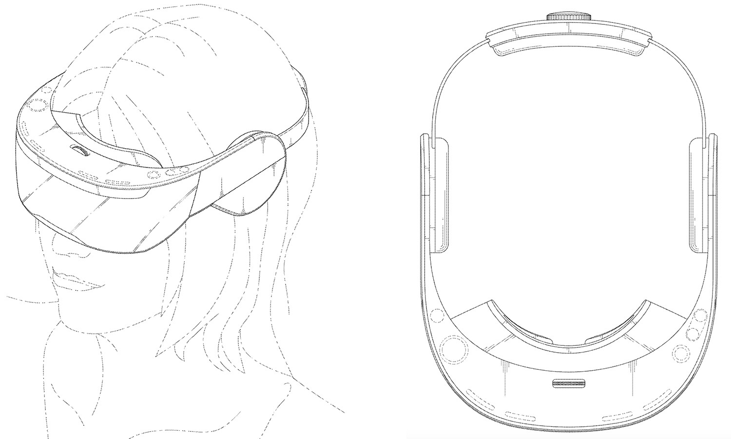 New Published Patent Designs Show A Different Look To The Upcoming LG VR Headset