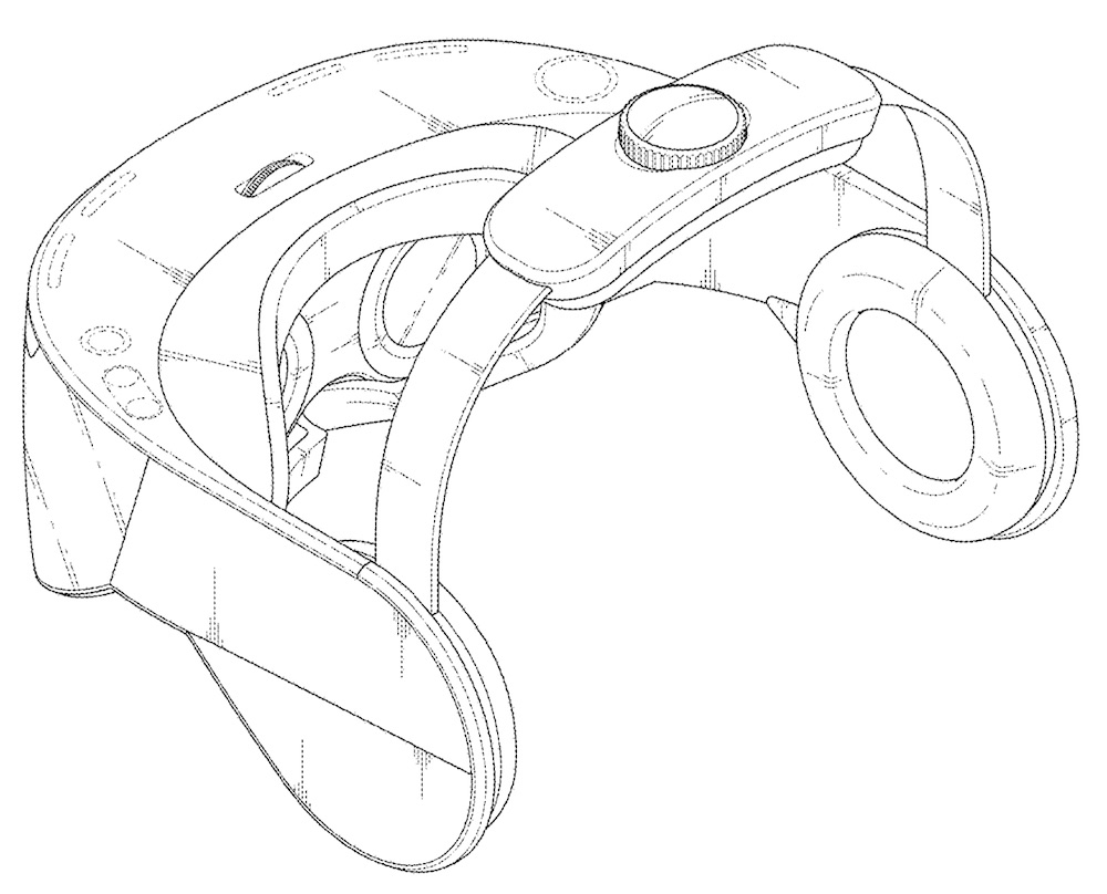 lg vr headset strap rotation to 90