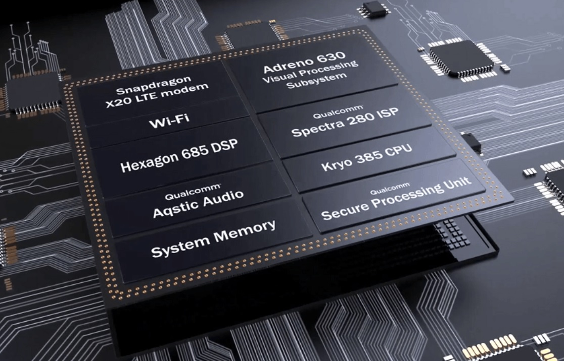 qualcomm snapdragon 845 chip