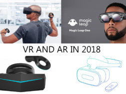 second generation vr and ar headsets in 2018