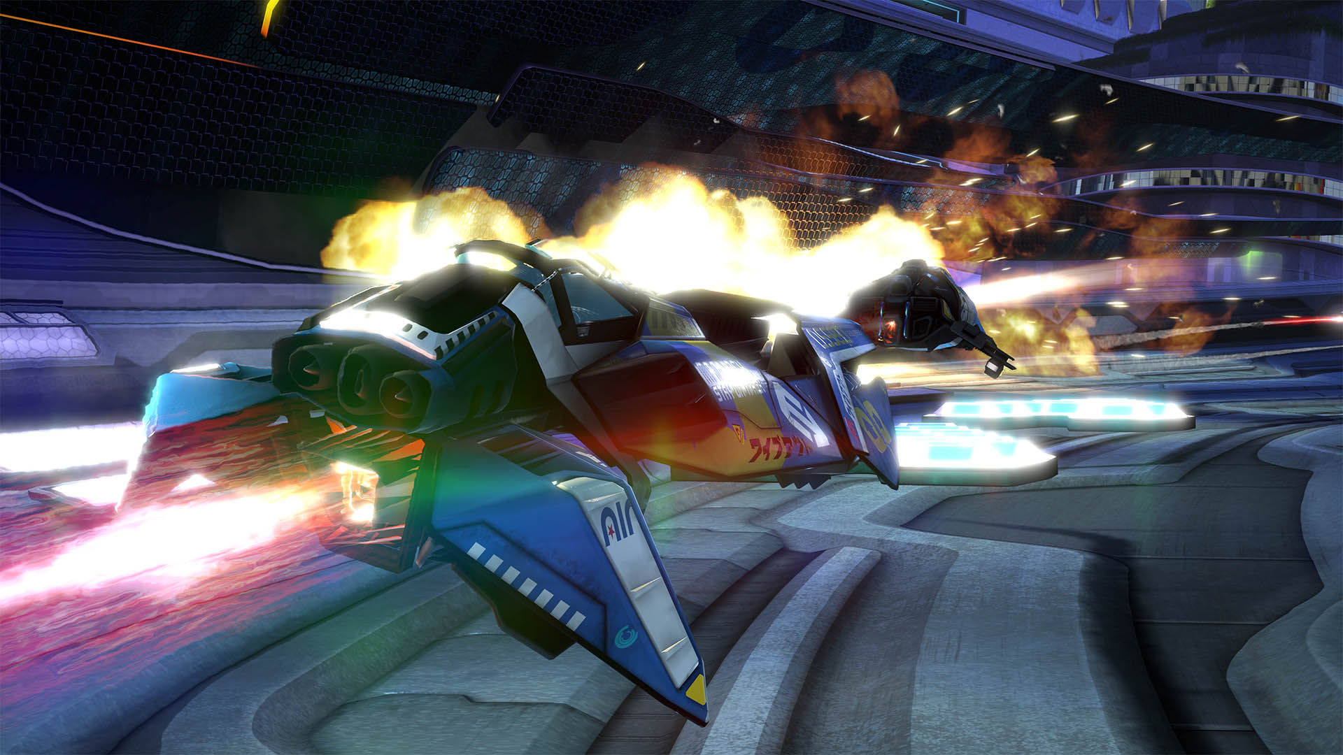 Sony Announces Wipeout VR – Coming To PSVR Early 2018