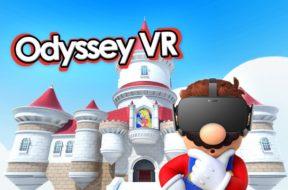 Super Mario Odyssey VR Castle image