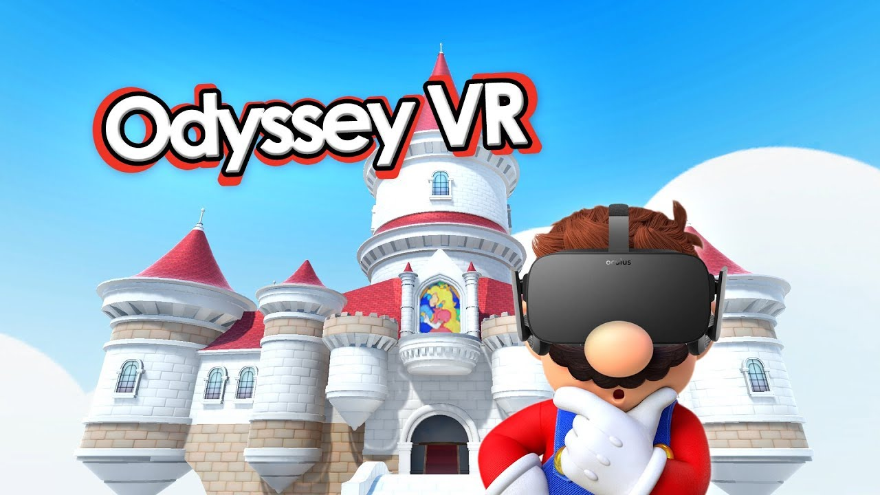 YouTuber Has Recreated The Super Mario Odyssey Castle In VR