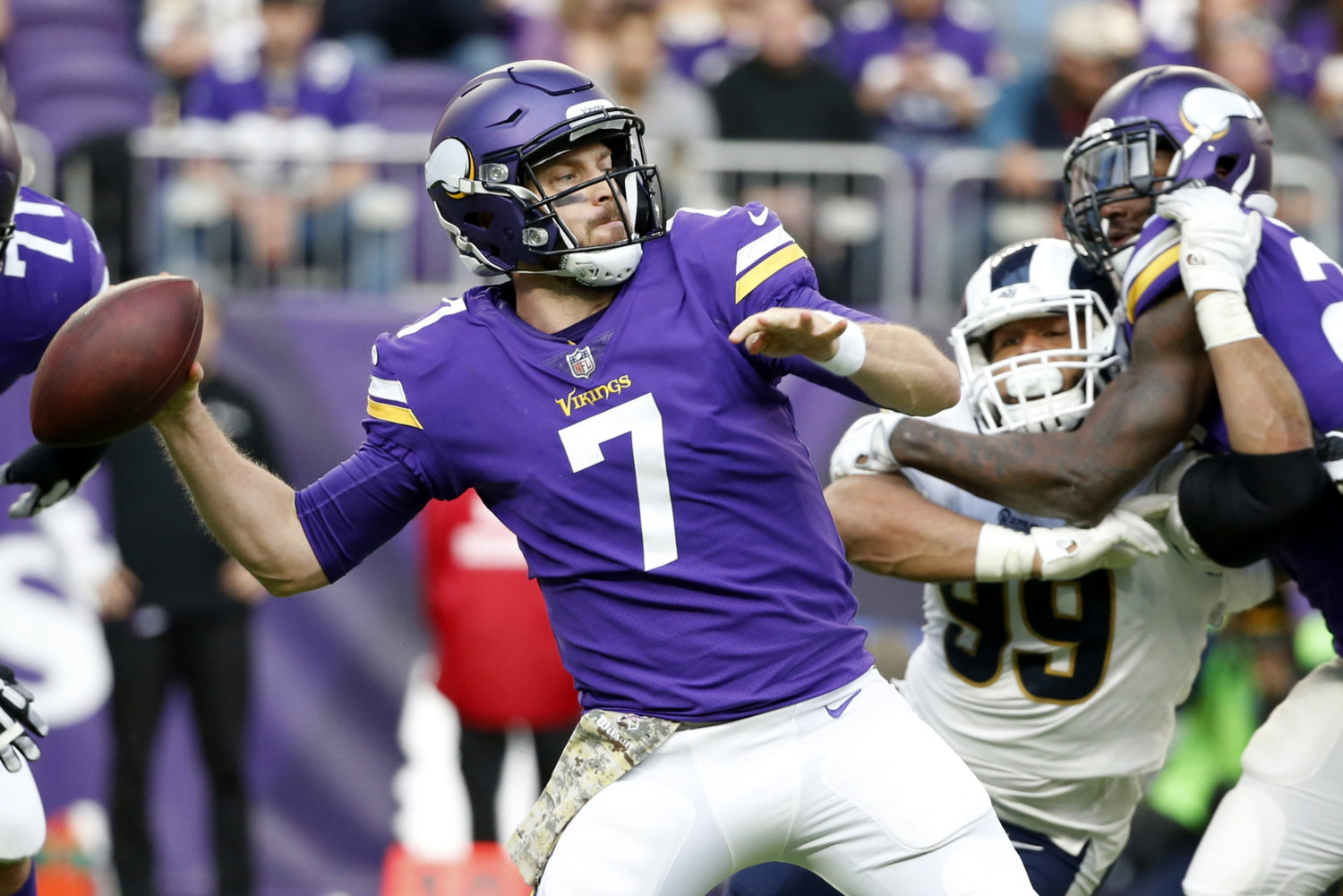 How Case Keenum Used Virtual Reality To Become A Superstar Quarterback