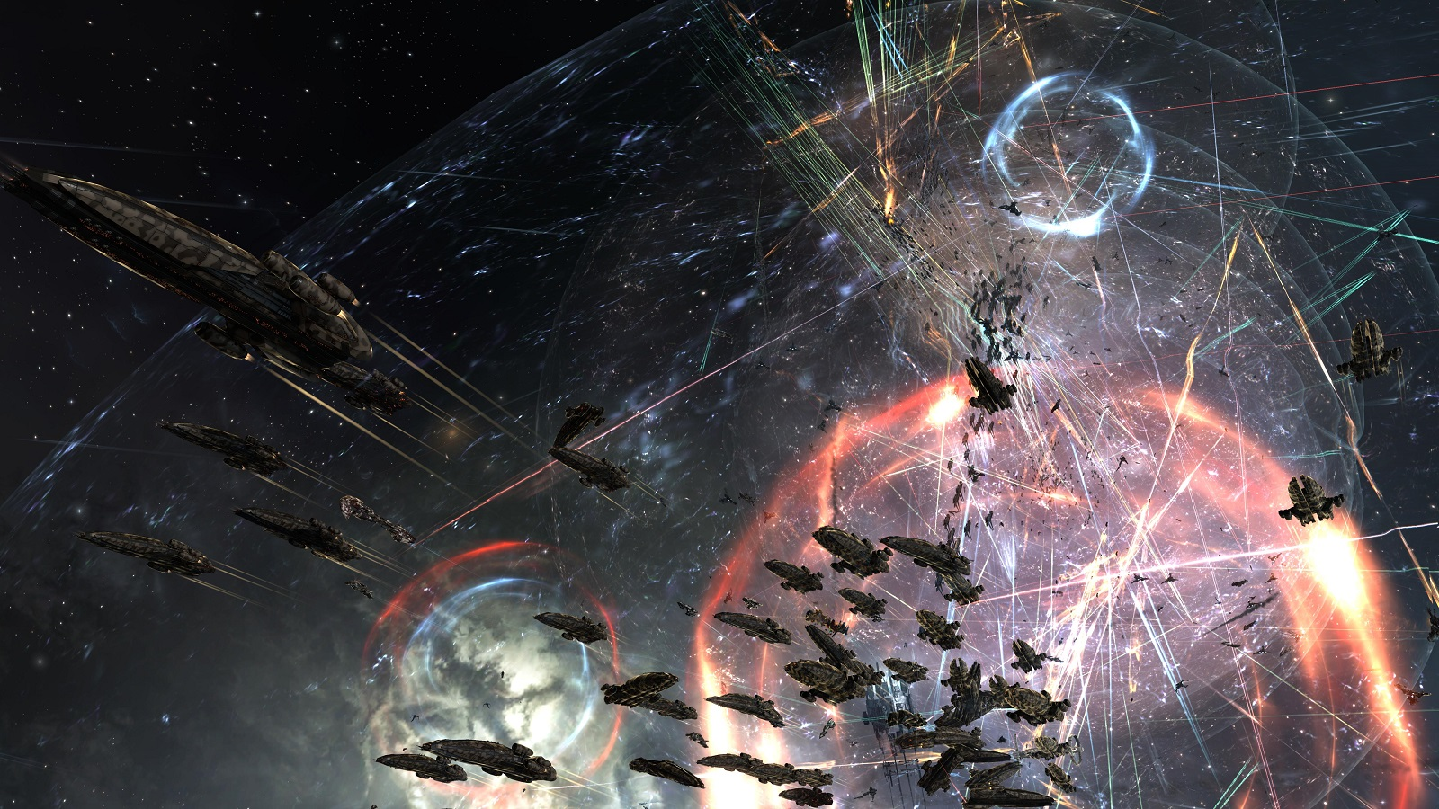 We Might Be Seeing The Largest EVE Online Battle With $1,000,000 Worth Of Spaceships On The Line