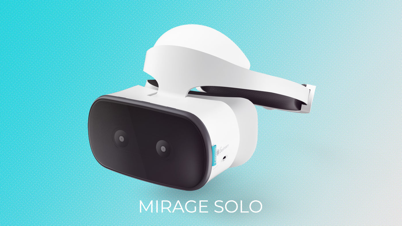 Google Lenovo Mirage Solo VR Headset Set Launches On May 5th For $400
