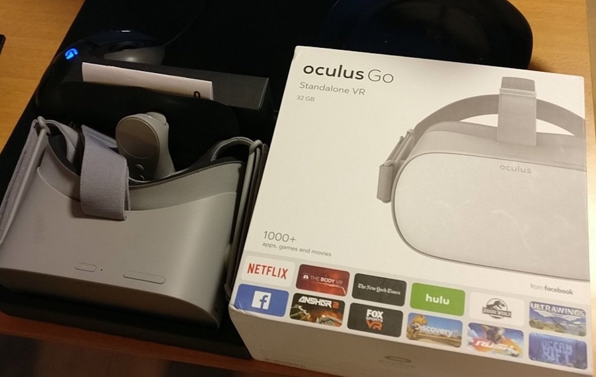 First Look: Oculus Go Standalone VR Headset
