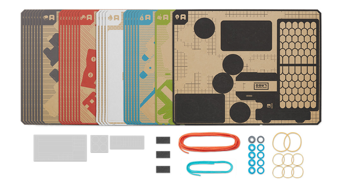 materials inside nintendo labo toy-con 01
