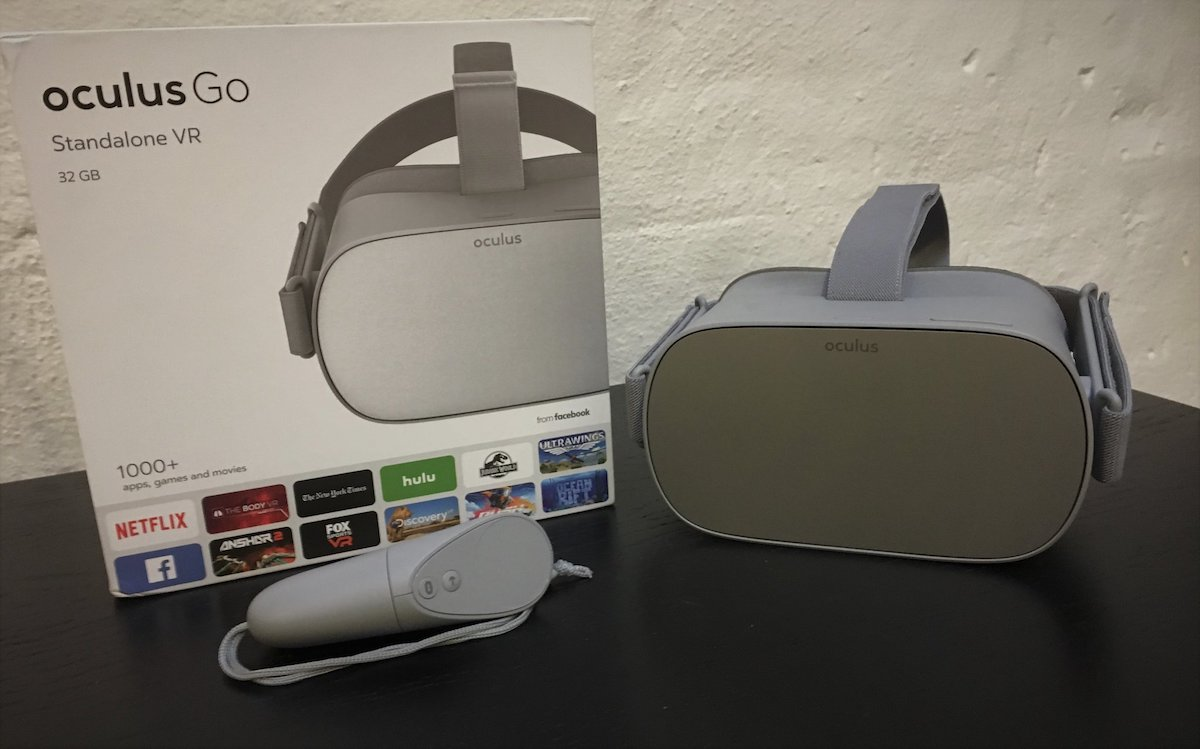 oculus go unboxed first look