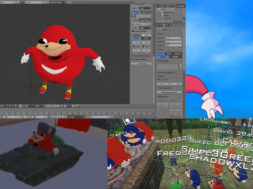 ugandan russian knuckles meme vr chat