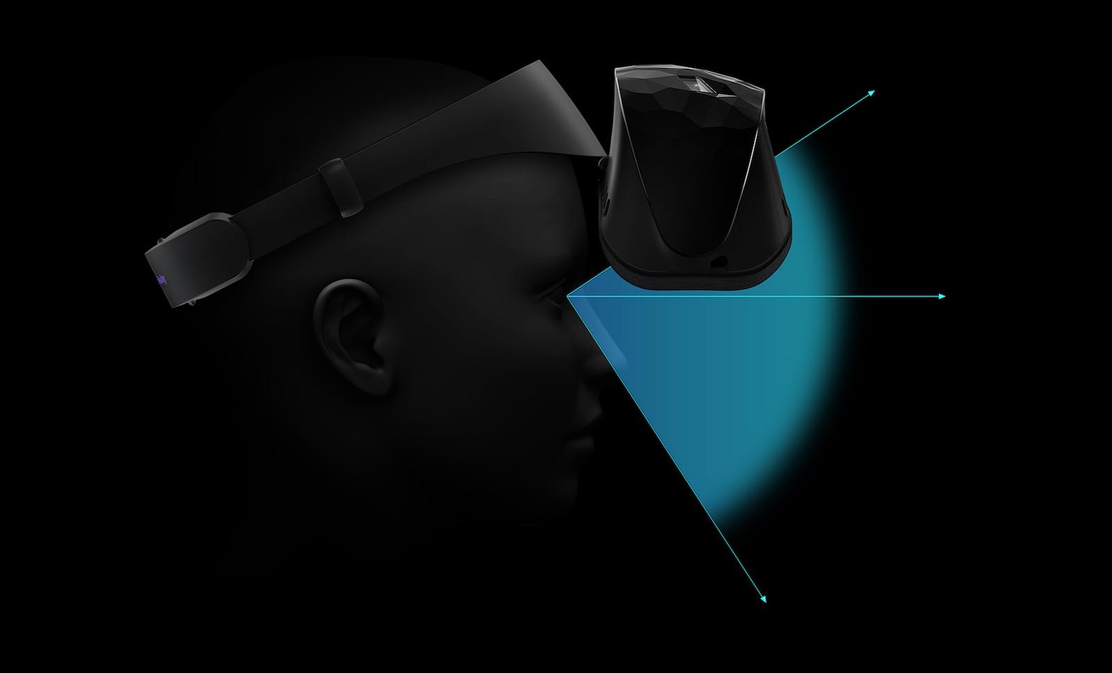 asus vr headset design flip