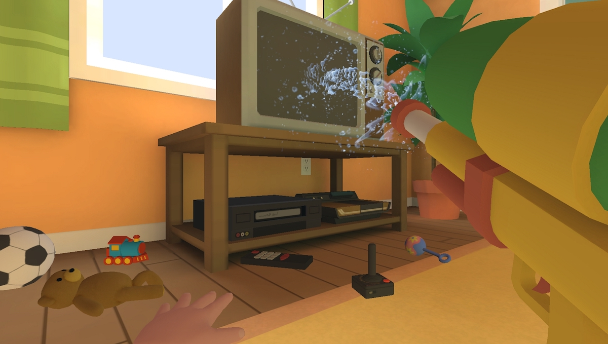Baby Hands VR Turns You Back Into A Child With Imagination