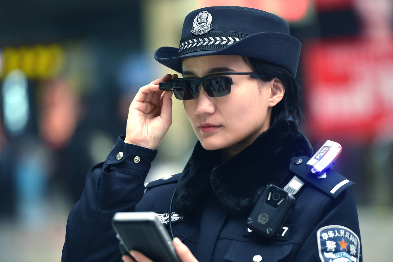 The Chinese Police Force Are Now Armed With Facial Recognition Smart Glasses