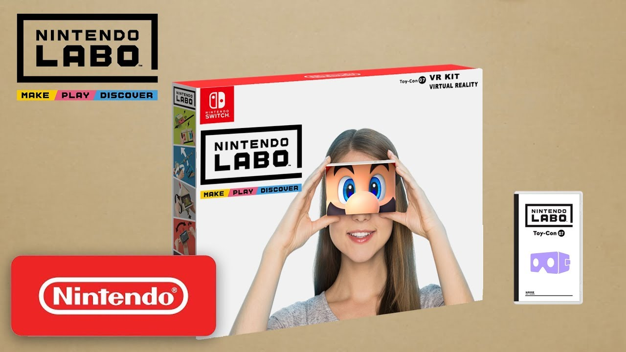 Fan Re-Imagines What A VR Headset Would Look Like With The Nintendo Labo Kit