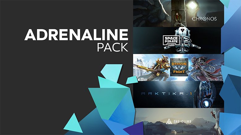 oculus adrenaline pack sale