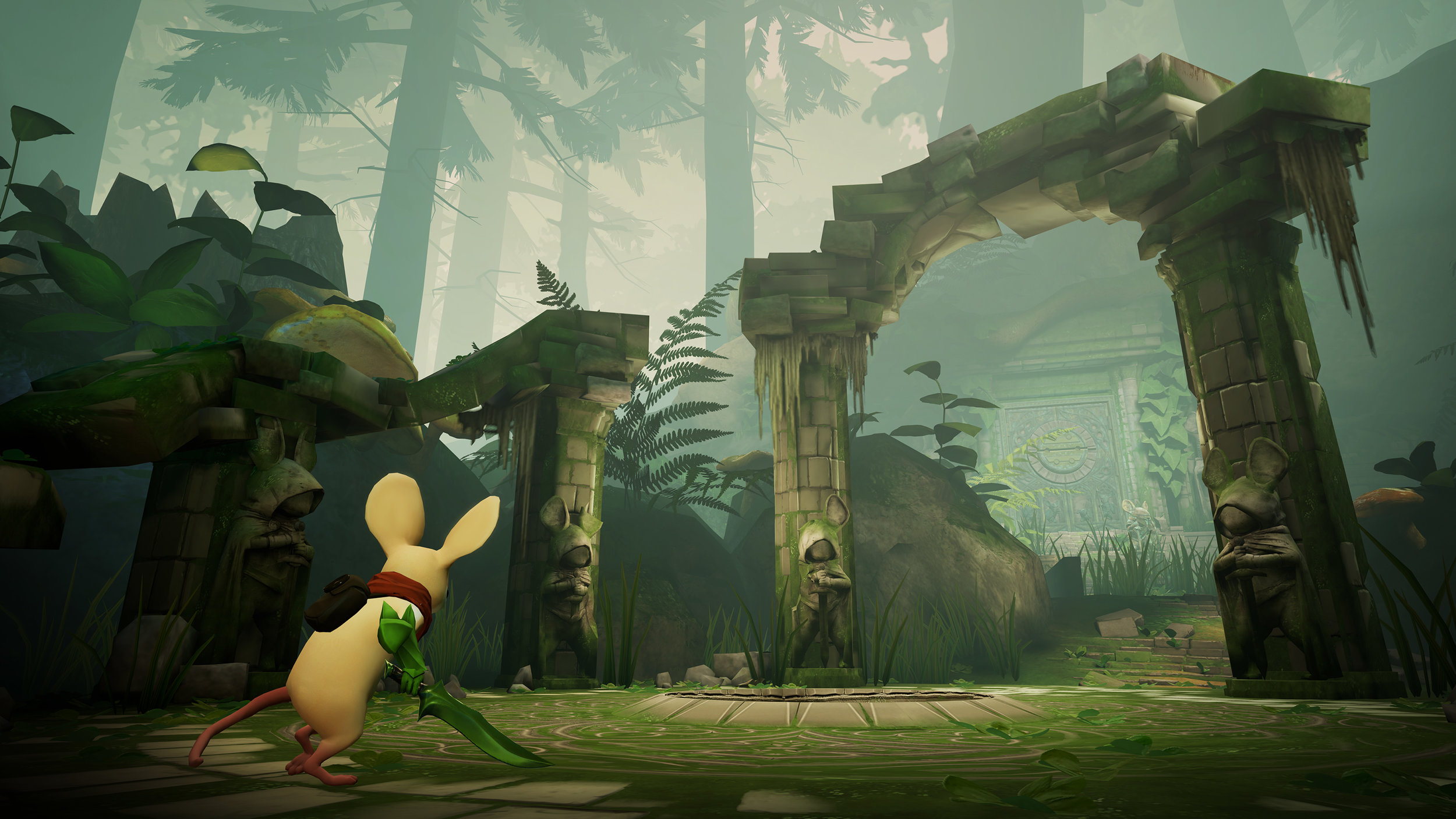 Moss Is Now Available On HTC Vive And Oculus Rift