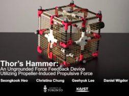 thors hammer force feedback device
