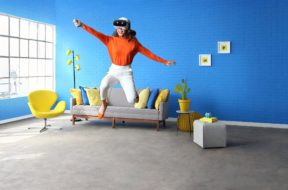 lenovo mirage solo vr headset action image