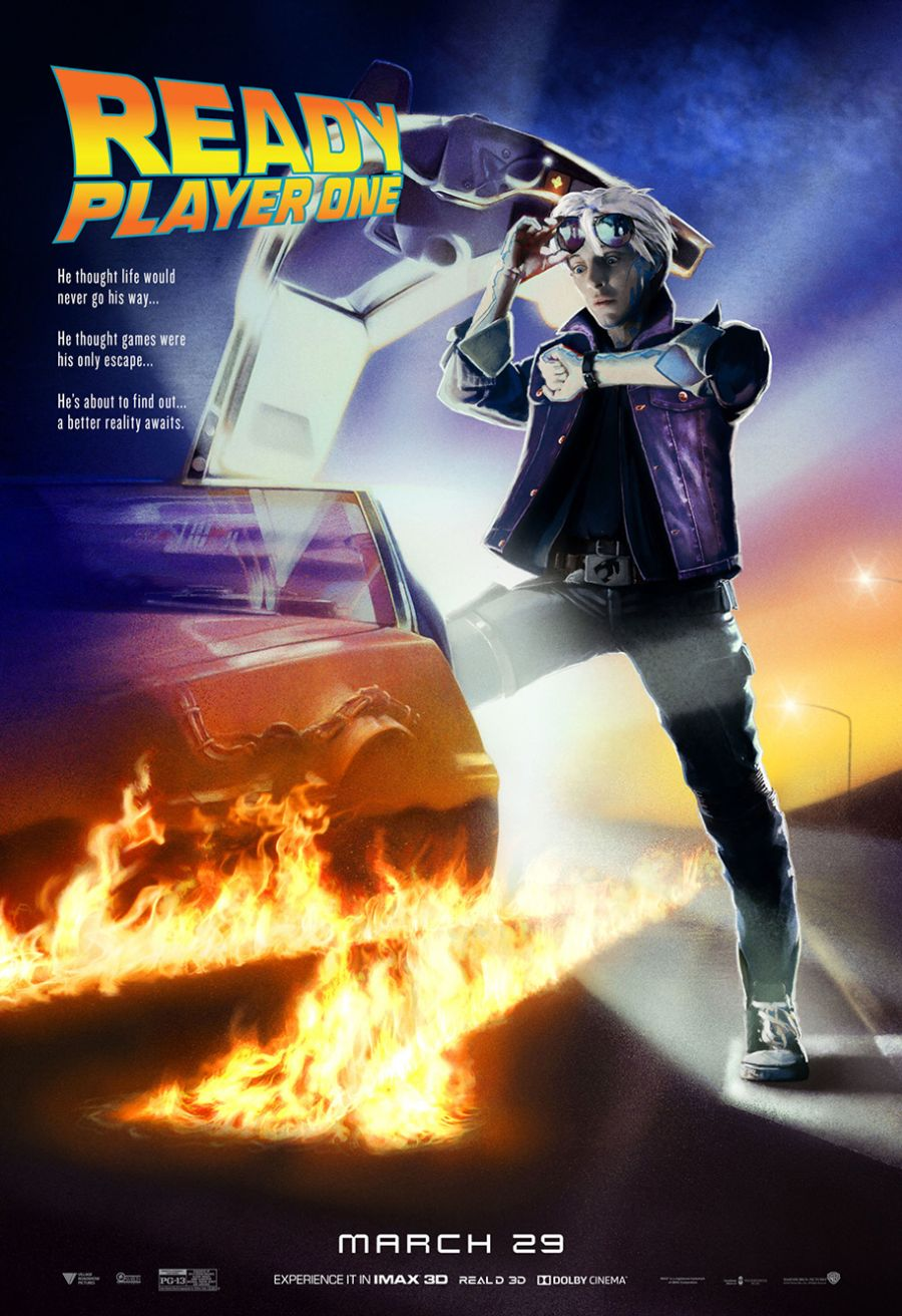 ready player one back to the future