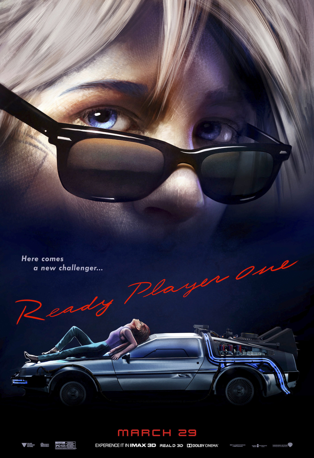 ready player one risky business poster