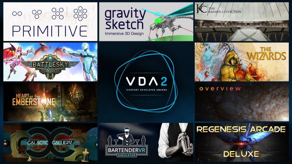 HTC Announces Viveport Developer Awards 2 Nominees